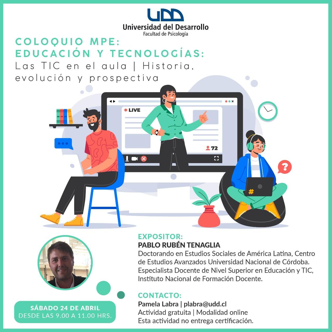 Coloquio MPE: Educación y Tecnologías